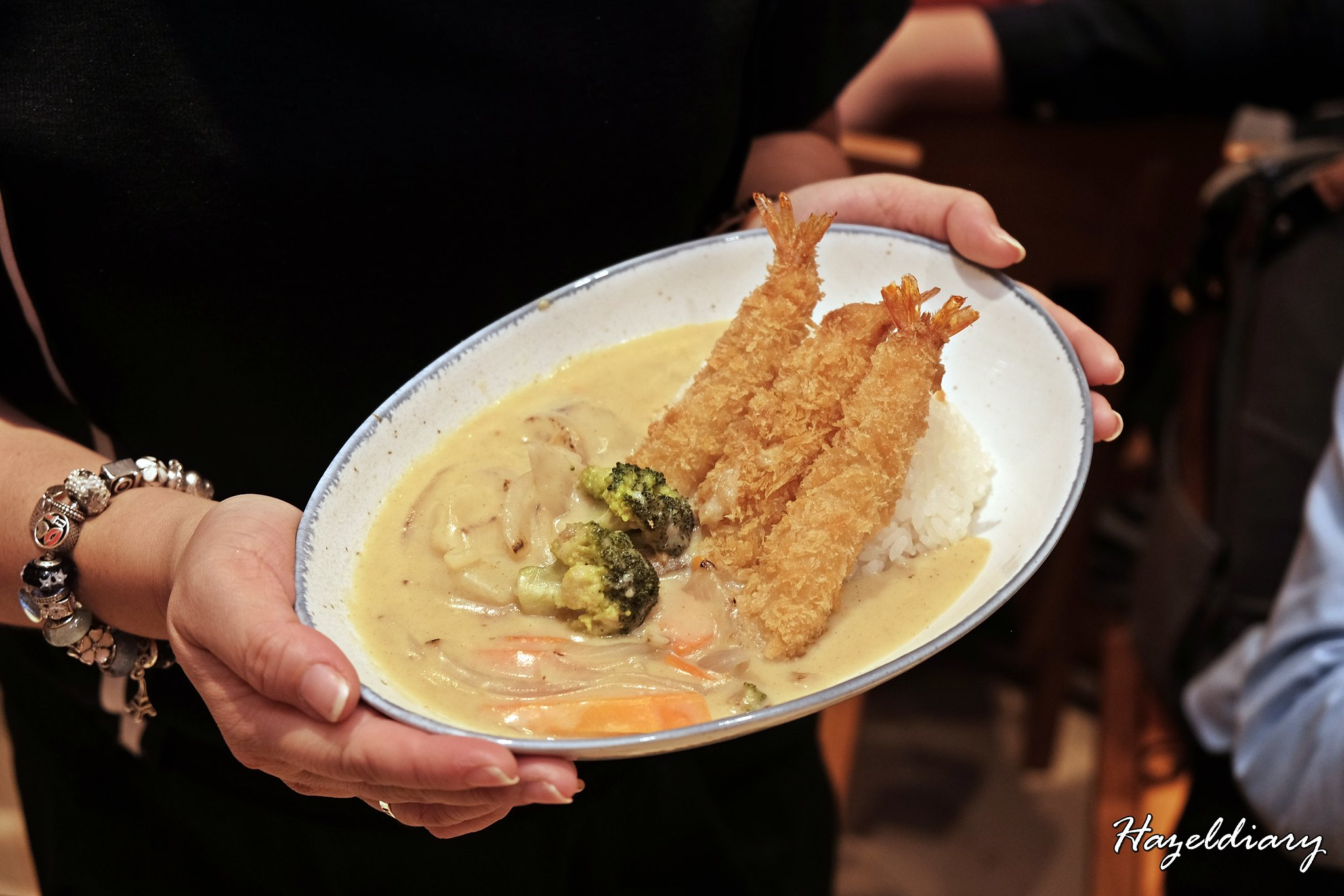 Hokkaido-Ya-Fried Ebi with White Curry