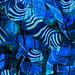 blue collage by cariocando (Rogerio Granato)