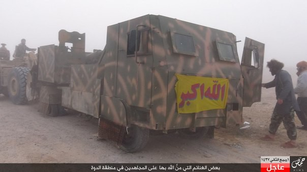 57mm-S-60-truck-SAA-captured-by-ISIS-near-palmyra-2016-ssh-1