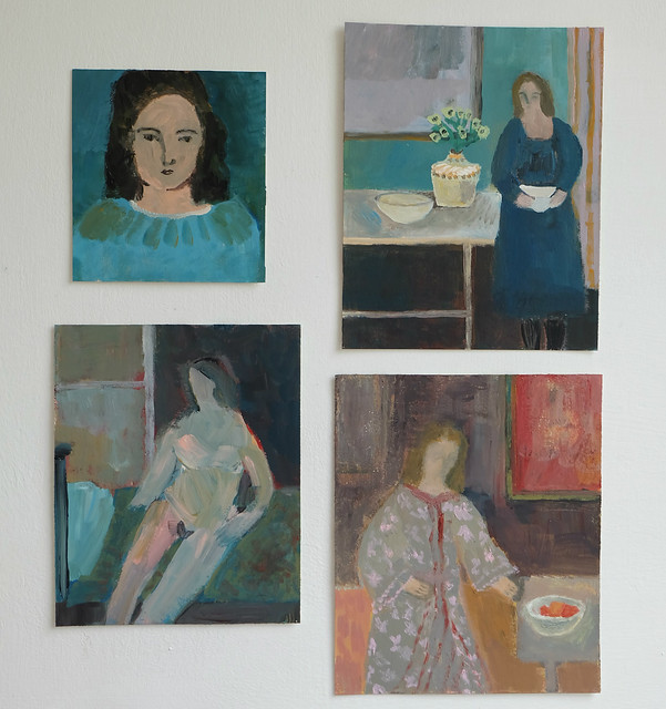 a group of recent paintings