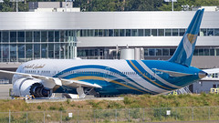Boeing 787-9 Dreamliner A4O-SF Oman Air
