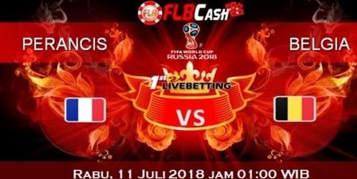 Prediksi Bola Piala Dunia – Perancis vs Belgia, hari Rabu, 11 Juli 2018