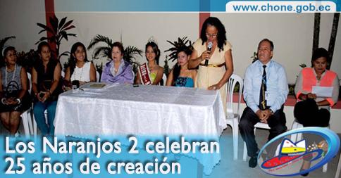 Los Naranjos 2 celebran 25 años de creación