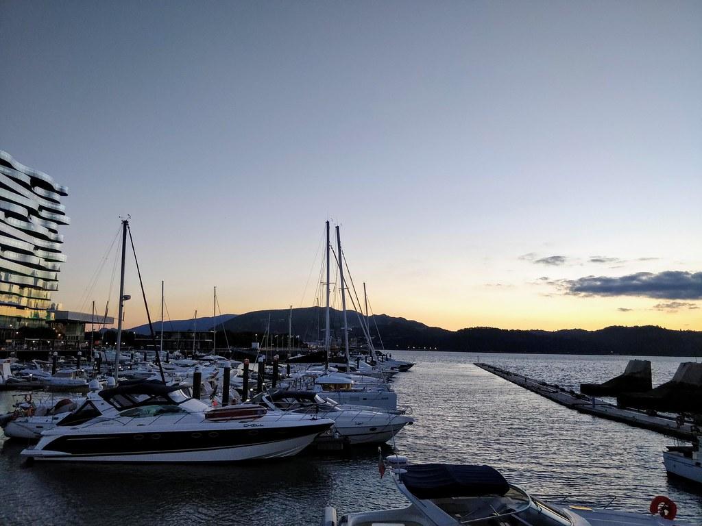 Harbor in Troia