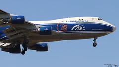 Boeing 747 -406F(ER) AIR BRIDGE CARGO VQ-BWW 35233 Francfort mai 2018