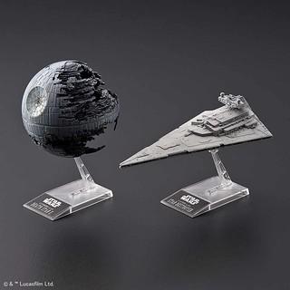 Star Wars Death Star II 1/2,700,000 Scale & Star Destroyer 1/14,500 Scale Model Kit Set