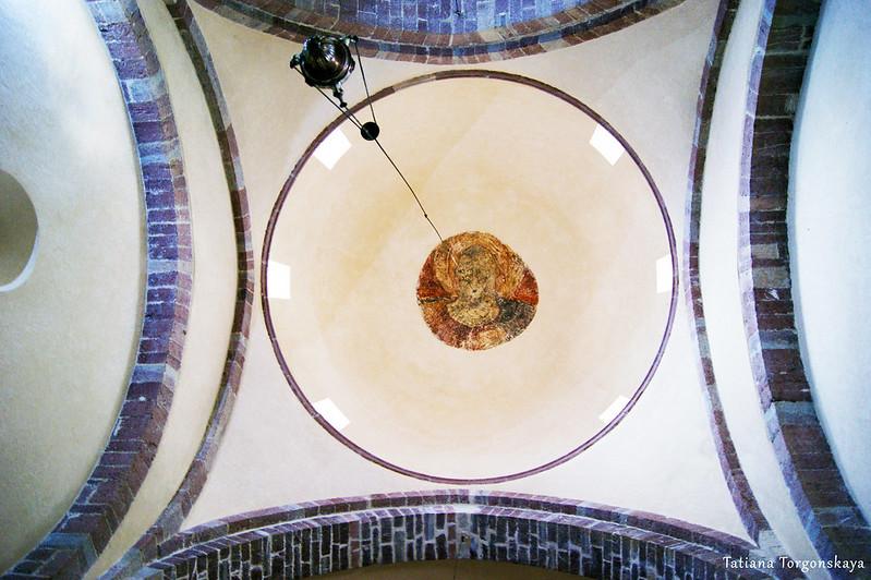 Потолок церкви Св. Марии Речной