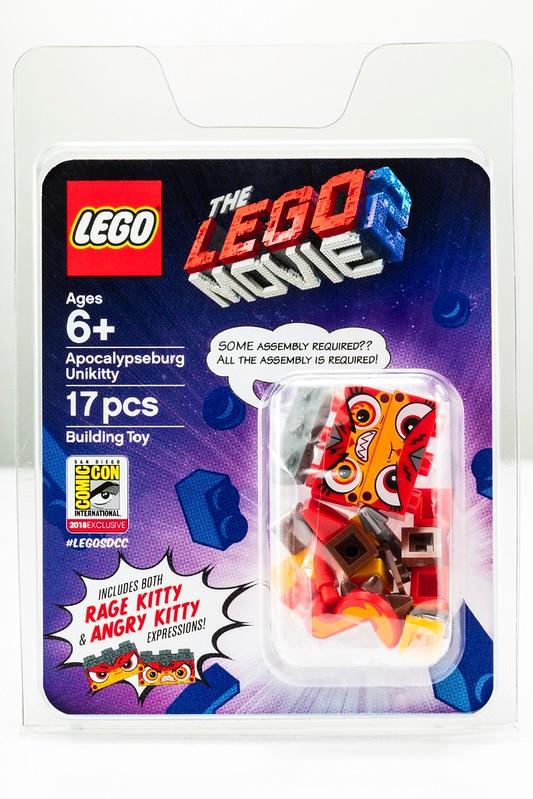 The LEGO Movie 2 Apocalypseburg Unikitty - SDCC 2018 (1)