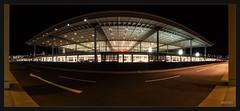 Airport Berlin Brandenburg bei Nacht