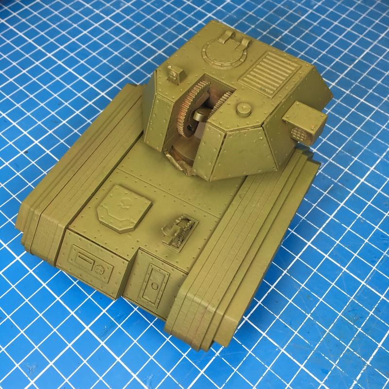 Lasercut basilisk tank green-3