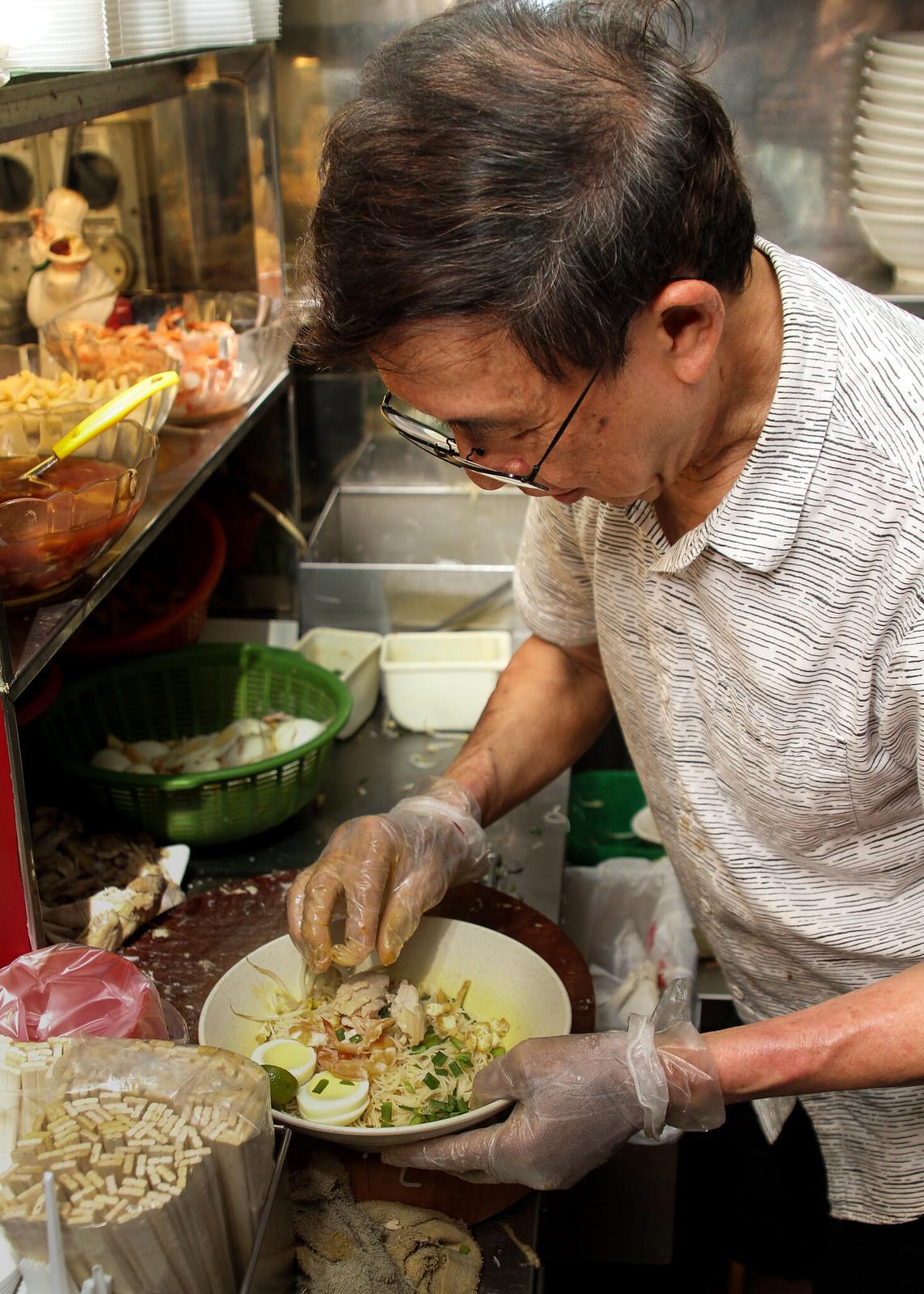 Famous Sungei Road Trishaw Laksa Daniel Soo - Chef-Owner