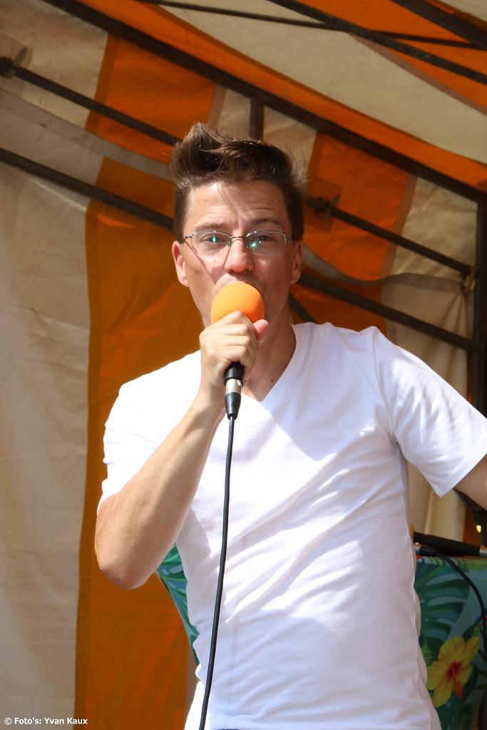 Yvan Verelli Live op Sea Fun en Folklorenmarkt