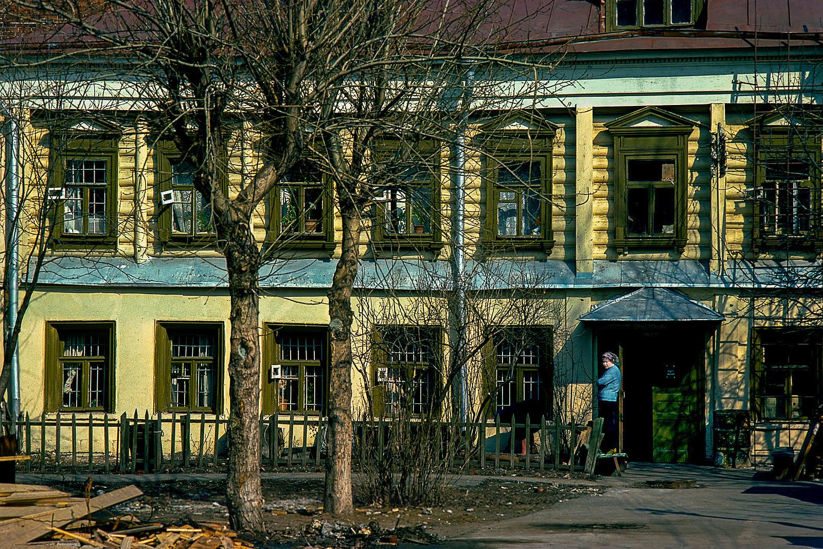 Деревянный дом в Климентовском переулке