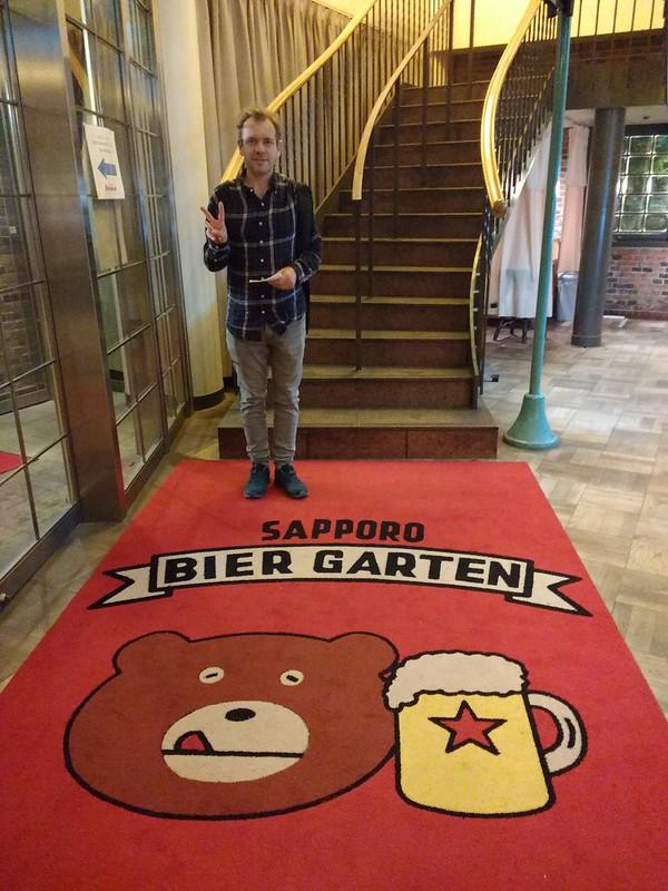 Sapporo bier garten
