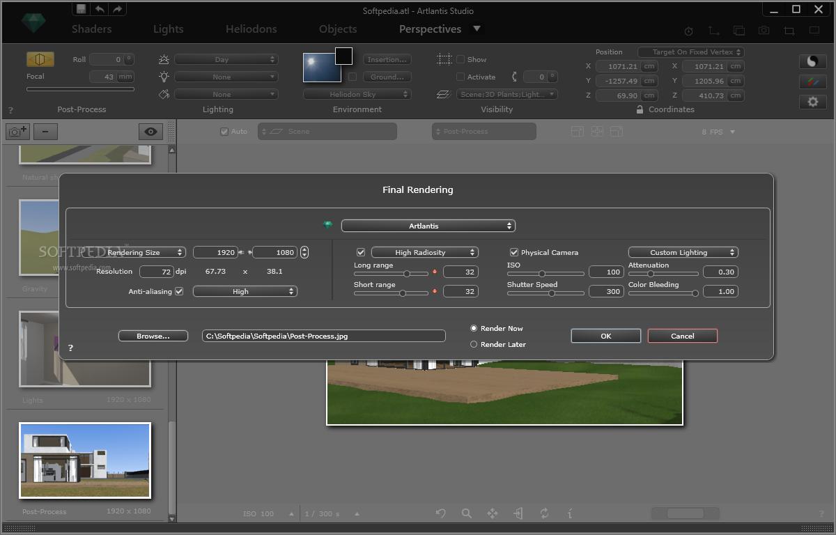 Working with Artlantis Studio 7.0.2.2 full license
