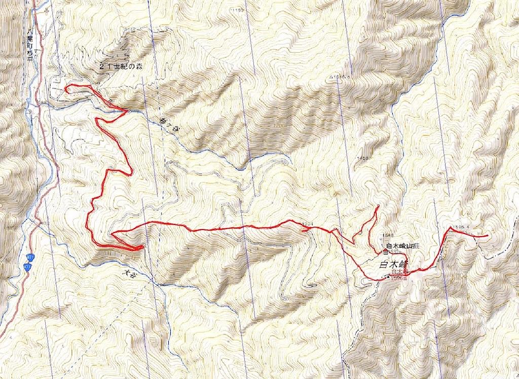 DATA and Map to the SHIRAKIGAMINE