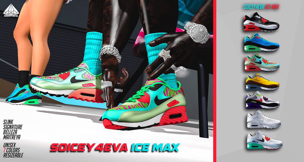 💎SOICEY4EVA💎 ❄️ICE MAX👟 Now Available!