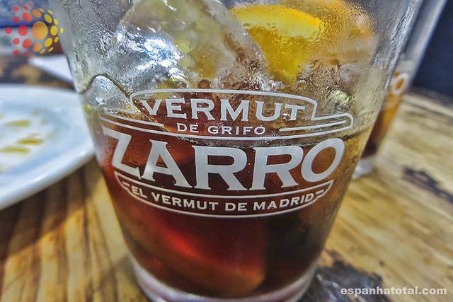 bebidas típicas de Madri: vermut