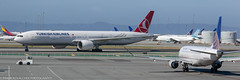 Turkish Airlines 777 at KSFO