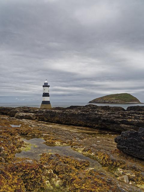 Trwyn Du Lighthouse 2, Olympus E-M1, Lumix G Vario 14-45mm F3.5-5.6 Asph. Mega OIS