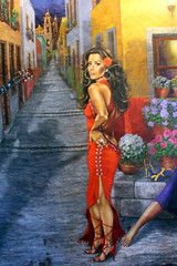 San Antonio - Dowtown: Mi Tierra - The American Dream - Eva Longoria