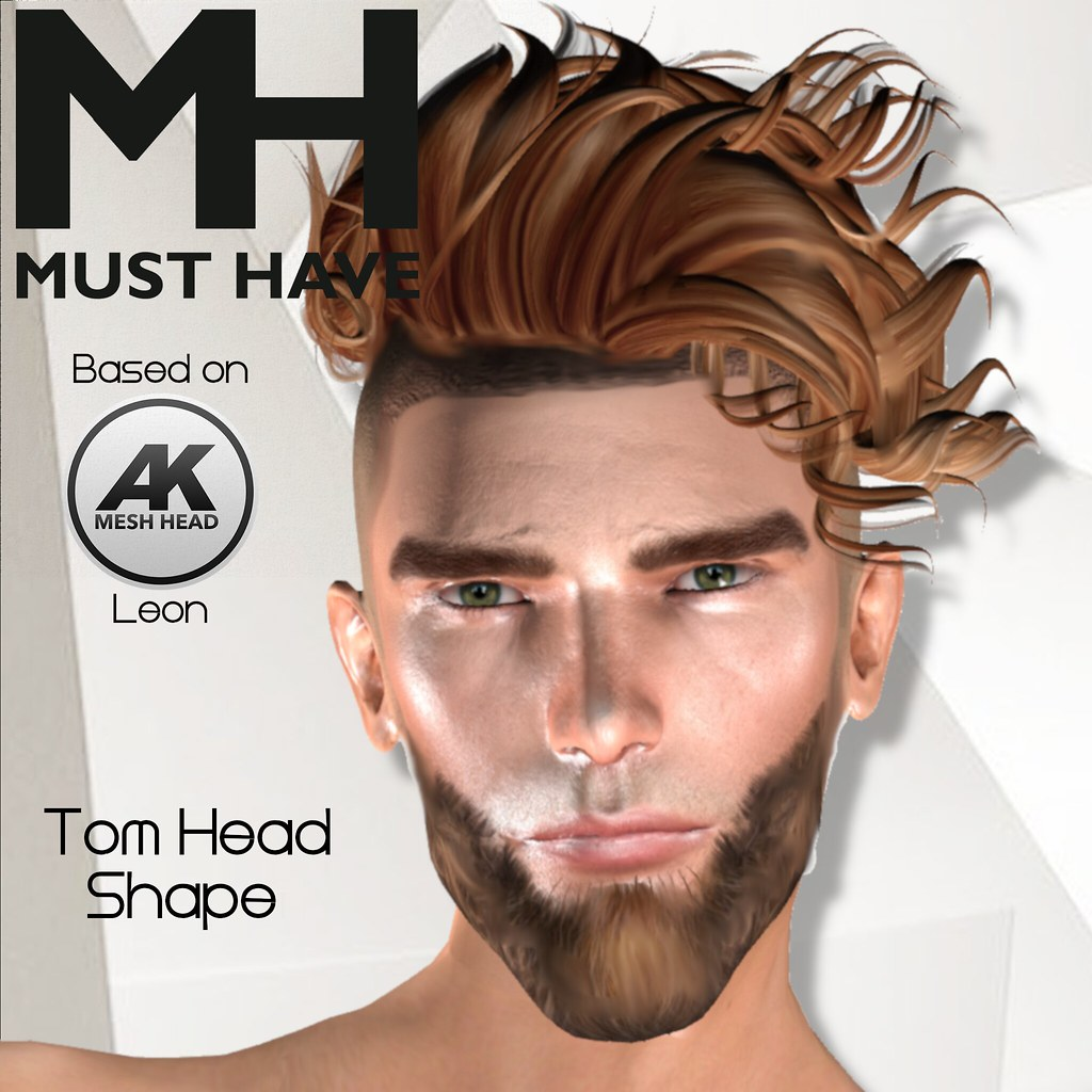 MUST HAVE - Tom Head Shape (Akeruka Leon) - Dollarbie - TeleportHub.com Live!