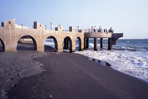1997.09高雄旗津海岸公園-觀日平台地基沙灘逐漸減少