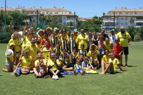 Juveniles de la U.D. Consolación vecen en un campeonato de verano en Marbella