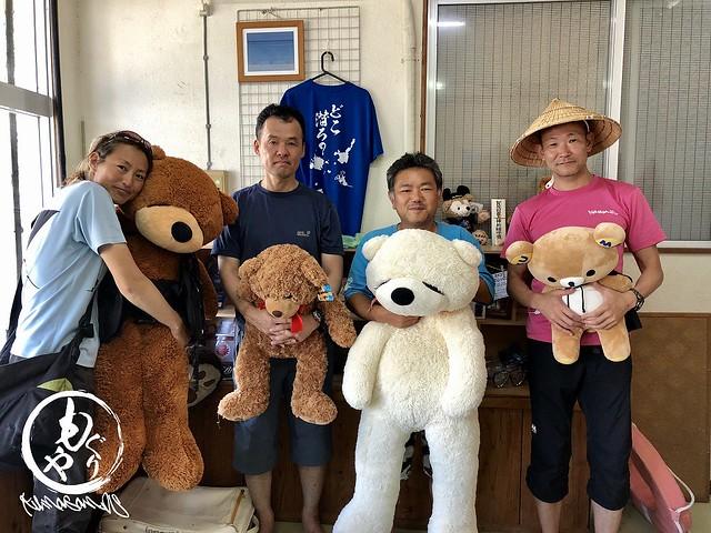 台風前の集合写真♪ 2018/07/09