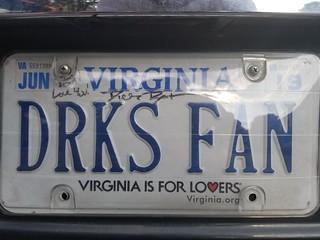 Dirks Bentley Fan (Autographed License Plate)