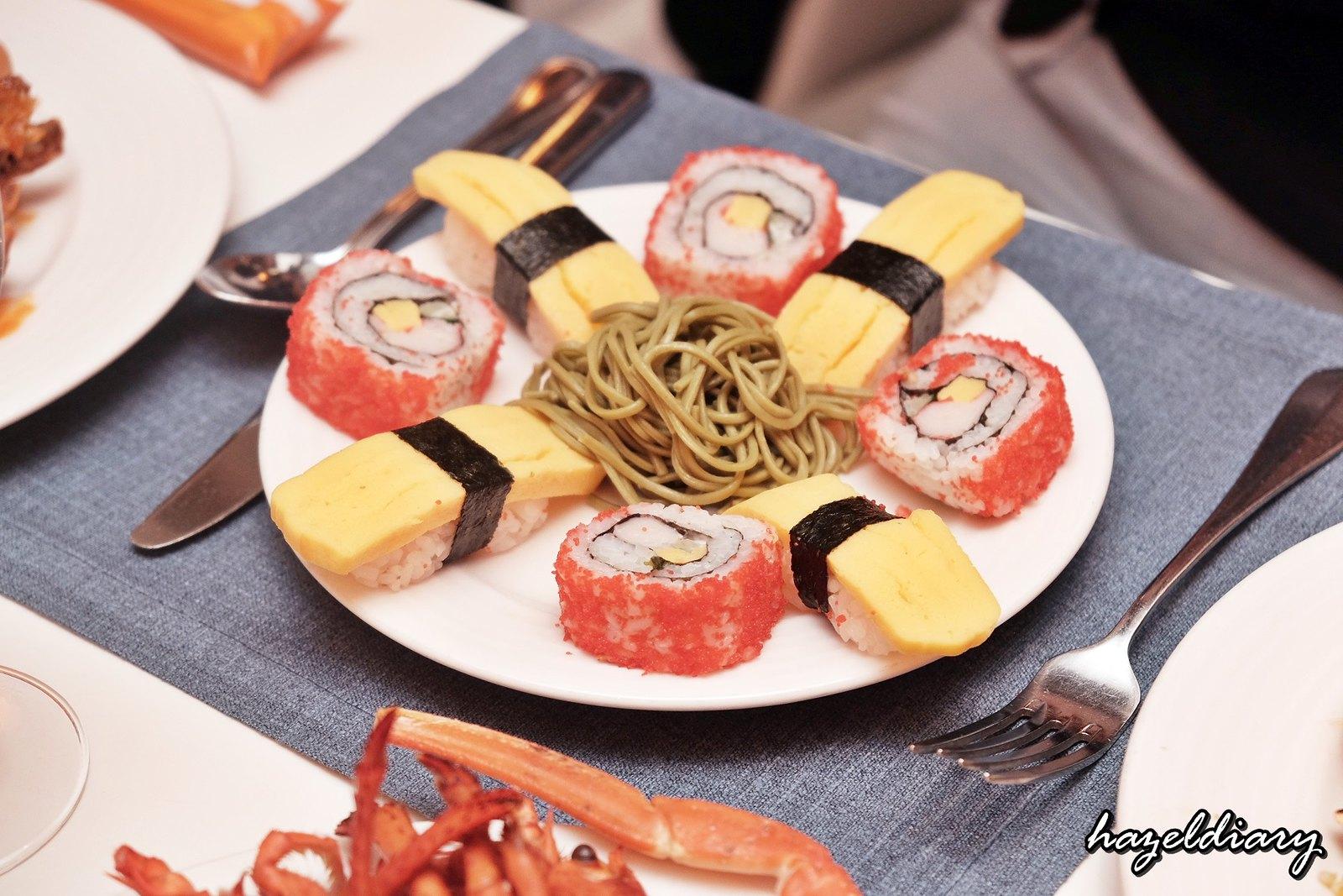 The Line Shangri-La Hotel-Durian buffet-Sushi