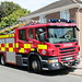 West Sussex Fire and Rescue Service Scania P280 WX15GMF