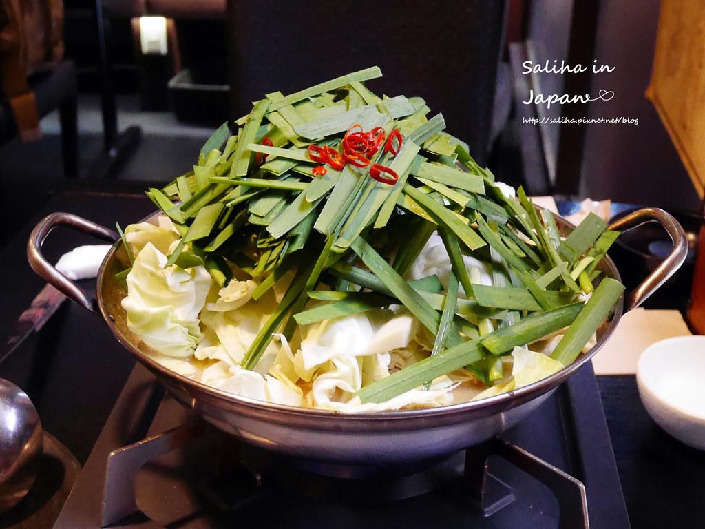 日本九州福岡天神美食笑樂牛腸鍋 (9)