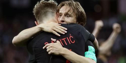 Kroasia mengandalkan Modric dan Rakitic