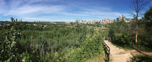 Panorama Of Downtown Edmonton, Alberta, Canada