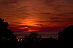 Sunset in Port Blanc