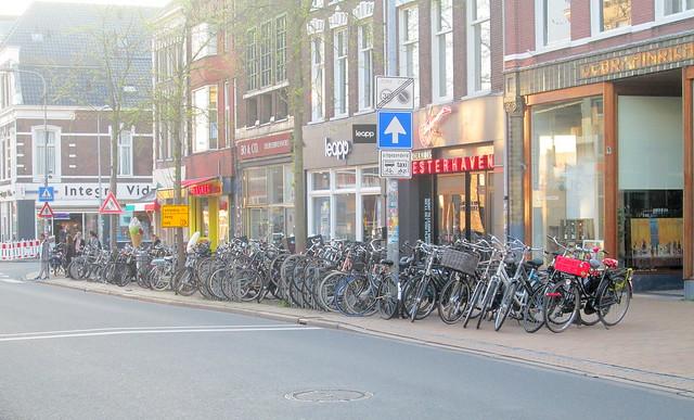 Bicycles, Groningen