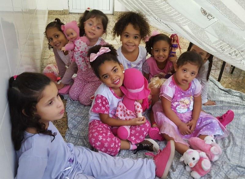 Tarde do Pijama da Educação Infantil
