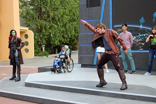 Guardians of the Galaxy: Awesome dance-off
