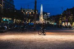 Night Bike at Dam