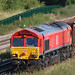 DB Cargo Class 66 041 Close up at Kettering North