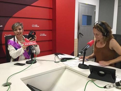 Último Ganbara en Radio Euskadi del curso 17-18, con Cristina Mendia y Loreto Larumbe