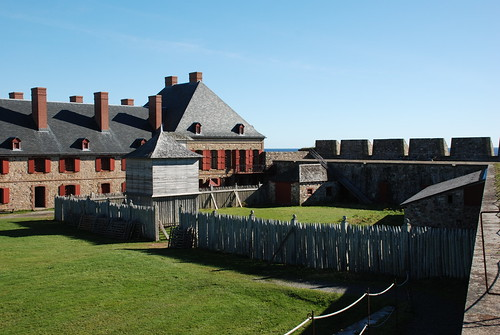 Louisbourg Fortress. From History Comes Alive in Sydney, Nova Scotia