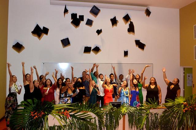 Cérémonie de remise des diplômes de la 1ère promotion de DUT de l'UPF
