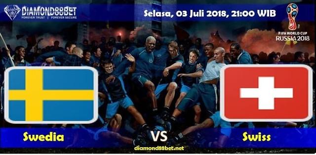 Prediksi Bola Swedia vs Swiss ,Hari Selasa, 03 Juli 2018 – Piala Dunia