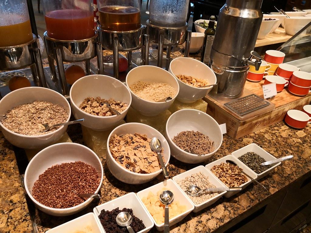Bowls of cereals