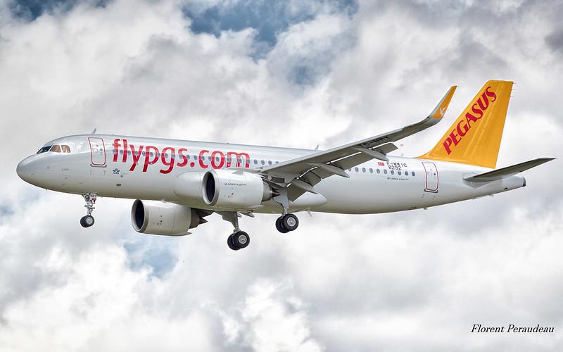 F-WWIC // TC-NBY Pegasus Airbus A320 neo A320-251N MSN 8292 Gülse