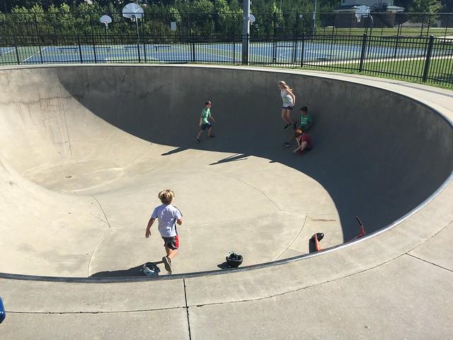 At the Skate Park with Boys Club