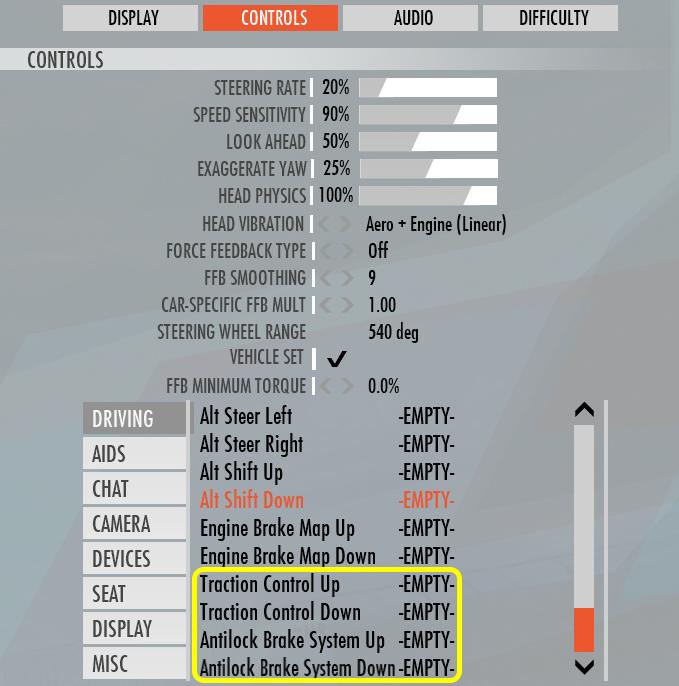 controller-settings