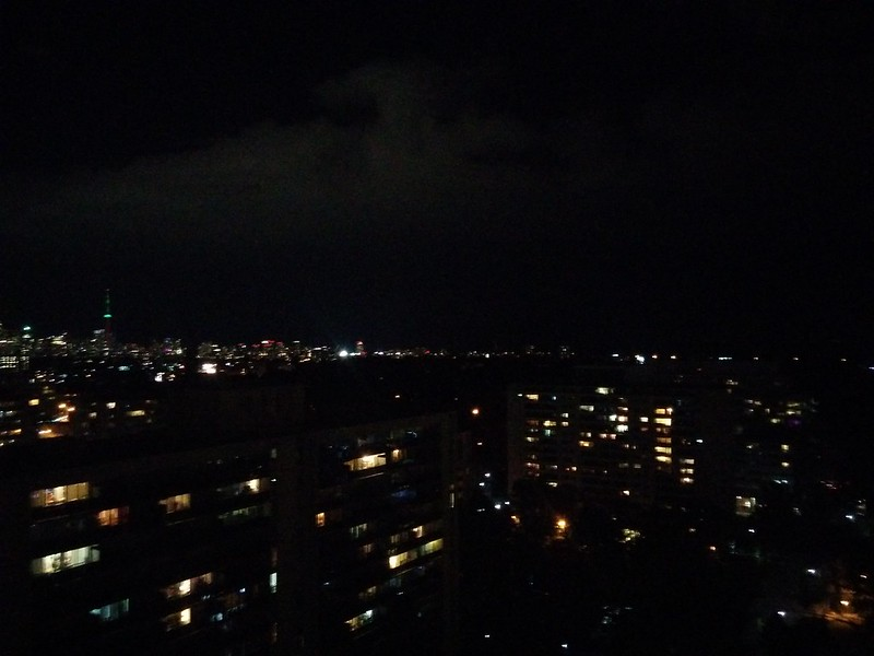Glittering, east to west (1) #toronto #skyline #highparknorth #lights #night #latergram